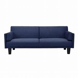 metro futon sofa bed in navy blue 2034619 With navy blue sectional sofa bed