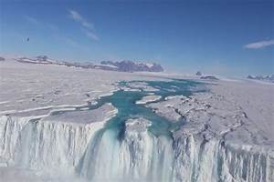 Discovery Of Lakes And River Streams In Antarctica