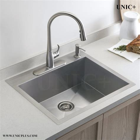 kitchen sinks vancouver 24 inch small radius stainless steel top mount kitchen