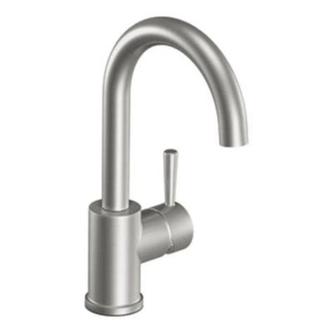 moen level kitchen faucet moen level single handle kitchen faucet in classic stainless discontinued 5100csl the home depot