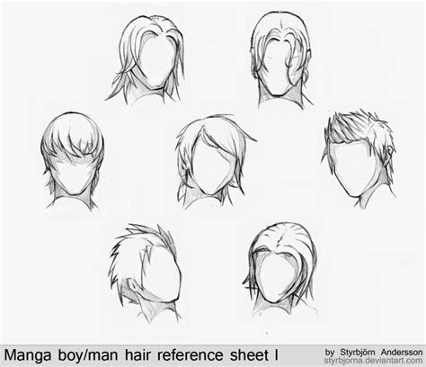 Anime Girl Drawing Template