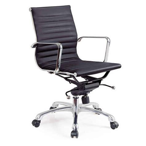 chaise de bureau sans accoudoir chaise bureau design