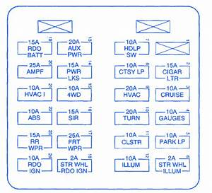 Chevrolet Cruze 2011 Engine Fuse Box  Block Circuit Breaker Diagram