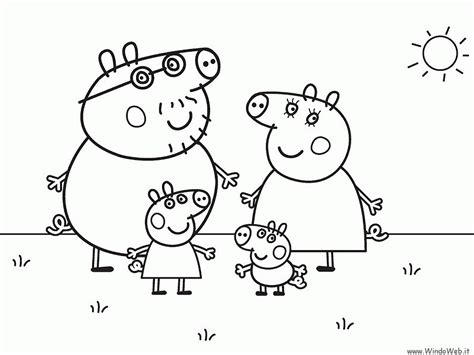 peppa pig coloring pages printable  peppa pig colouring
