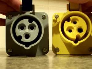 Plugs   Yellow 110v Plugs  Bs En 60309-2