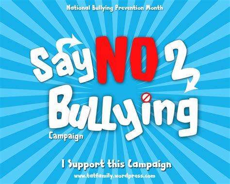 National Bullying Prevention Month Get Involved
