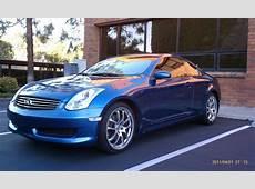 FS 06 Athens Blue 6MT G35 Coupe G35Driver Infiniti