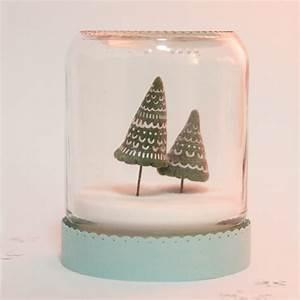 Boule De Neige Noel : cr er une boule neige de no l id e cr ativeid e cr ative ~ Zukunftsfamilie.com Idées de Décoration