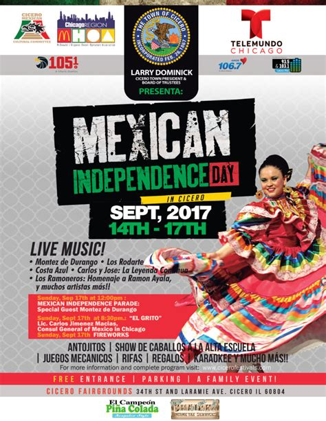 Mexican Independence Day – Town of Cicero, IL
