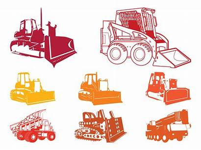 Construction Equipment Silhouettes Graphics Vectors Freevector Vectorified