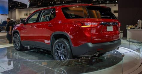 chevrolet traverse rs specifications  price