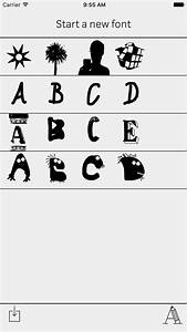 43 best letters made of things images on pinterest With font letter app