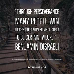 Inspirational Quotes About Perseverance Fair Inspirational ...