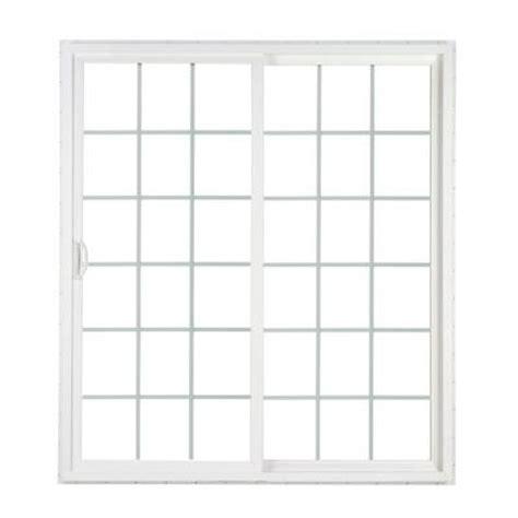 Simonton Patio Doors Home Depot by Simonton 60 In X 80 In 2 Panel Contemporary Vinyl