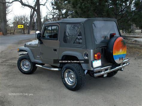 jeep wrangler se sport utility  door