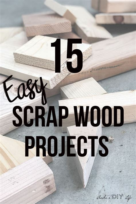 simple scrap wood projects  beginners diy  home