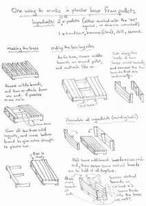 Instructions And Diagrams For Building Wooden Planter