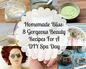Homemade Bliss: 8 Gorgeous Beauty Recipes For A DIY Spa ...