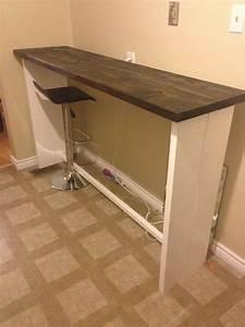 Table Bar But : ana white lets make a bar table diy projects ~ Teatrodelosmanantiales.com Idées de Décoration
