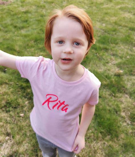 Bērnu T-krekls ar bērna vārdu - T-KREKLI - Latvijā ...