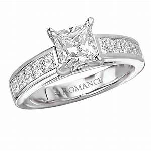 princess cut square diamond engagement ring wedding and With wedding rings square cut diamond