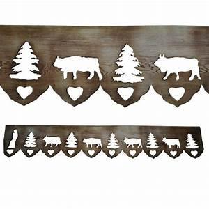 Animaux En Bois Décoration : frise bois animaux de montagne d coration ~ Teatrodelosmanantiales.com Idées de Décoration