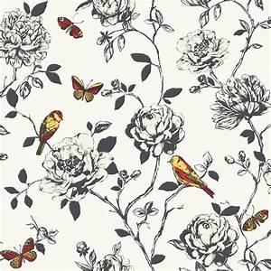 Birds and Butterflies Wallpaper - WallpaperSafari