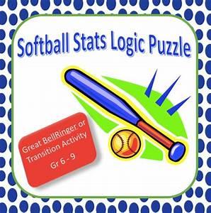 Softball Statistics Logic Puzzle  Critical Thinking