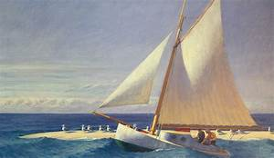 Sailing Boat Painting by Edward Hopper