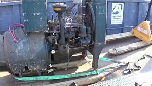 Removing 1940s Kohler Generator From Original Installation