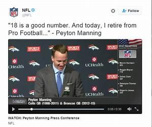 Peyton Manning Retirement Press Conference Video ...