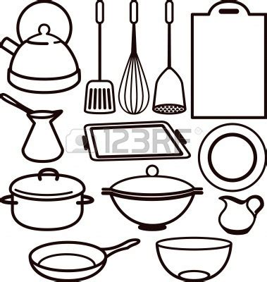 Coloring Utensil by Sketch Of Baking Tools Coloring Pages