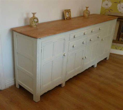 Shabby Chic Sideboard Uk by Shabby Chic Large Elm Ercol Sideboard Dresser Base 7ft