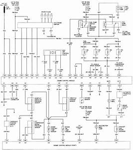 63 - 2 2l  Vin 4  Engine Control Wiring Diagram