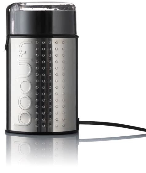 However, the bodum coffee grinder was recently released by the company. Bodum Bistro Blade Coffee Grinder, Chrome - Crema