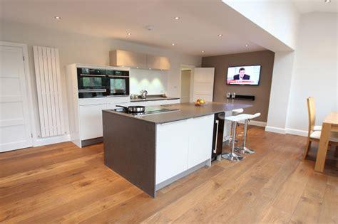 two tone kitchen island two tone kitchen with island modern kitchen 6437