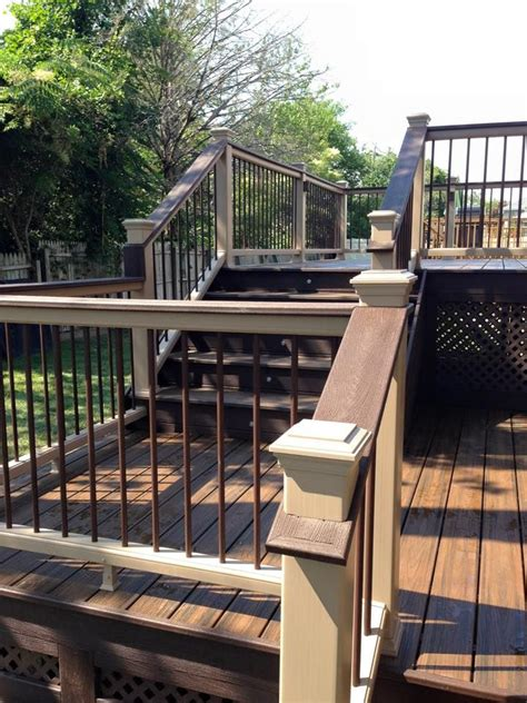 trex transcend decking rope swing 17 best images about gallery of decks that use trex