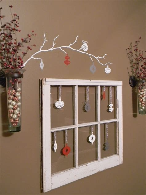 Christmas Repurposing Old Windows