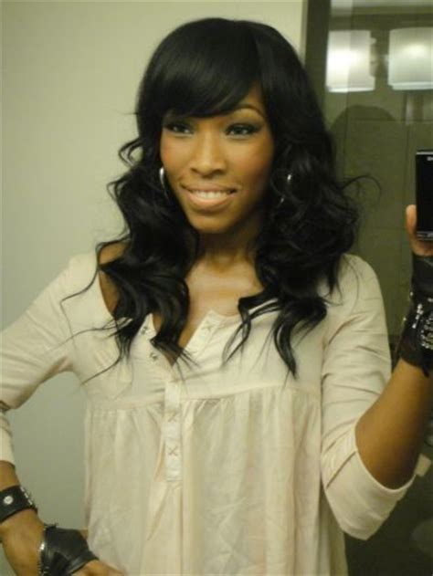 Sew In Weave Hairstyles With Bangs by Sew In With Side Sew In Protective Styles