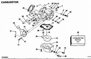 Evinrude Carburetor Parts For 1981 60hp E60elcih Outboard