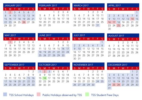 term calendar southport school