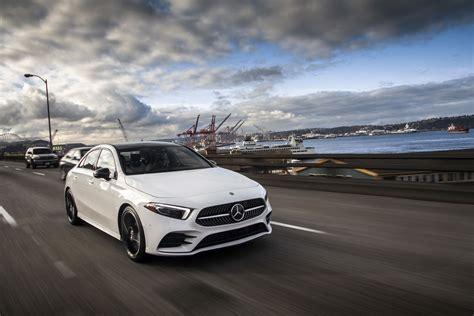 Mercedes BenzCar : Mercedes-benz Showcases 2019 A-class Sedan For U.s. Market