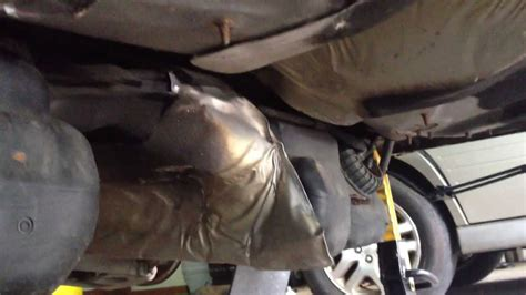 volvo    awd rear subframe removal tips