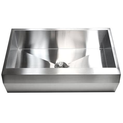 36 stainless steel sink 36 inch stainless steel single bowl zero radius well