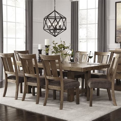 Dining Rooms Sets by Loon Peak Etolin 9 Dining Set Reviews Wayfair