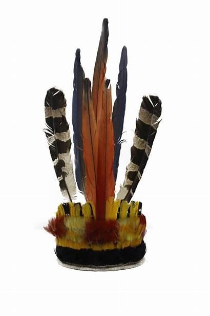 Raoni Chief Headdress Brazil Sfsu 1980s Worn