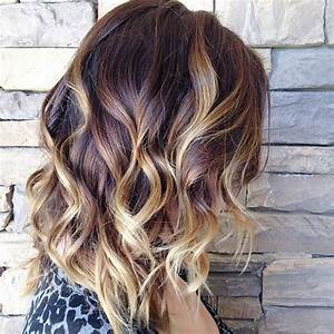 Ombré Hair Blond Foncé : top ombre hair colors for bob hairstyles popular haircuts ~ Nature-et-papiers.com Idées de Décoration