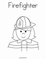 Firefighter Coloring Worksheet Pages Preschool Fire Am Firefighters Twistynoodle Prevention Fireman Printable Week Community Safety Colouring Sheets Helpers Activities Noodle sketch template
