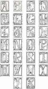 printable illuminated letters coloring pages 4 With illuminated alphabet templates