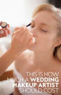 how much should a wedding makeup artist cost instyle - How Much Do Makeup Artists Charge For Weddings